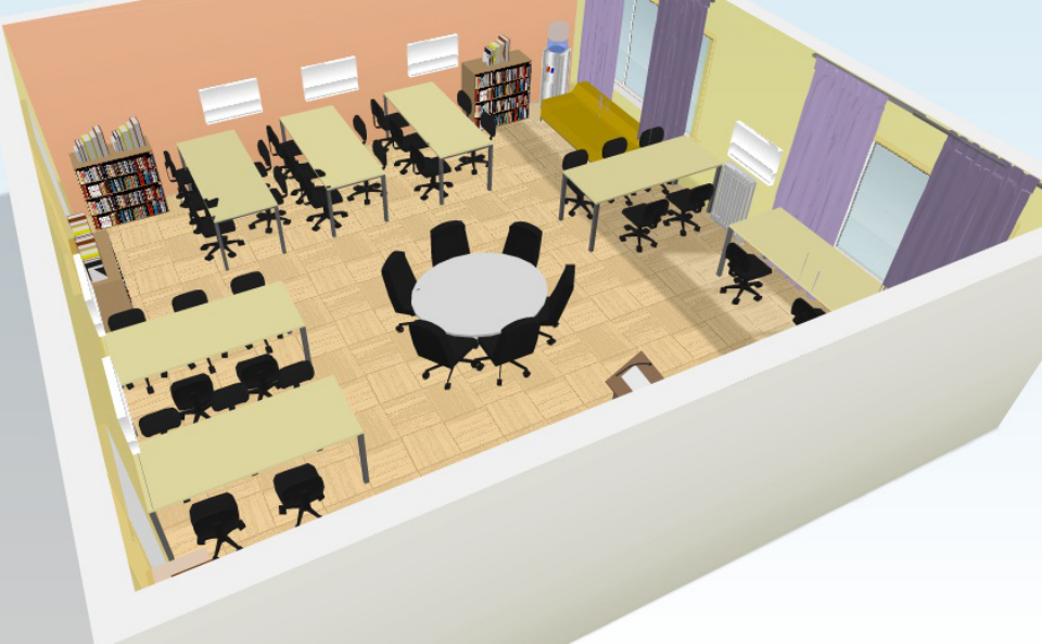 Classroom Furniture Design Standards ~ St century classroom design process of living